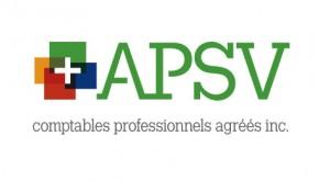 Nouveau logo APSV comptables professionnels agréés